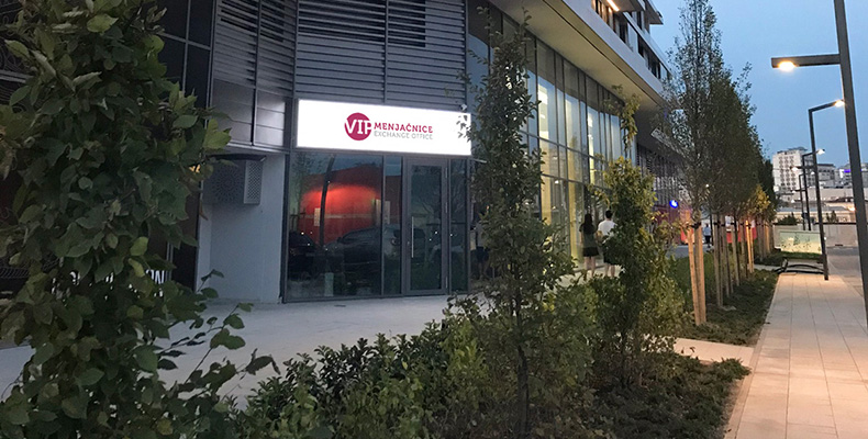 VIP menjačnica u Beogradu na vodi